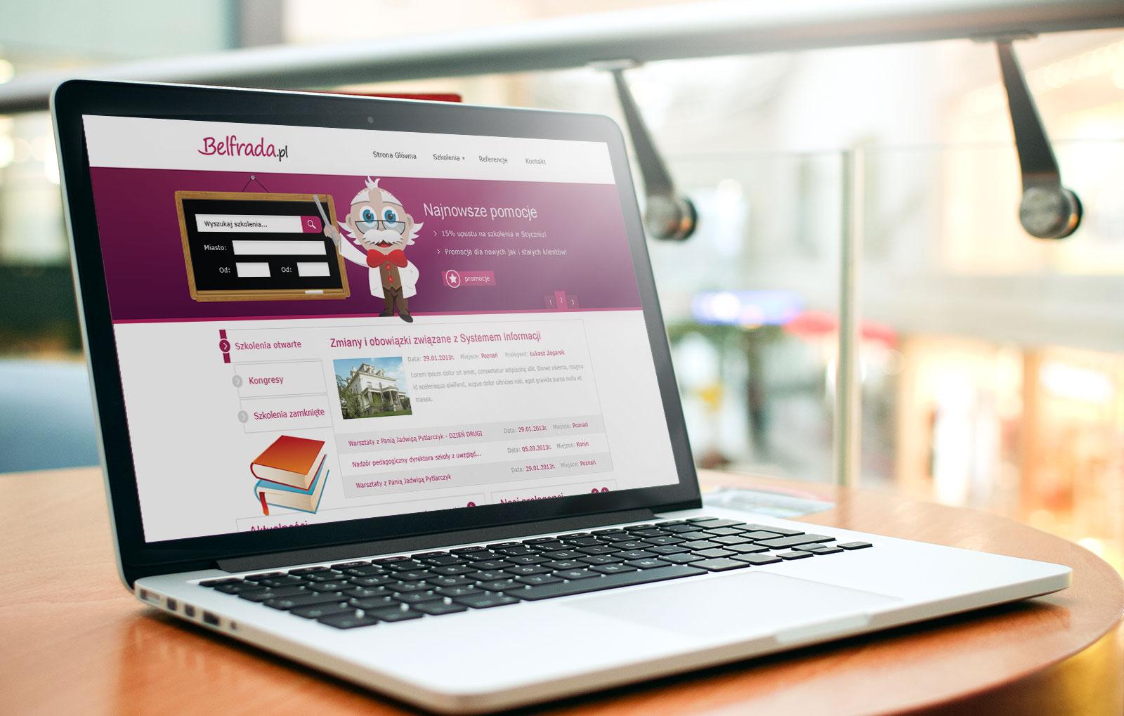 strona internetowa Belfrada